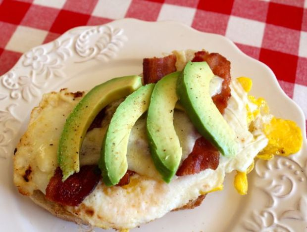open-face-egg-bacon-cheddar-avocado