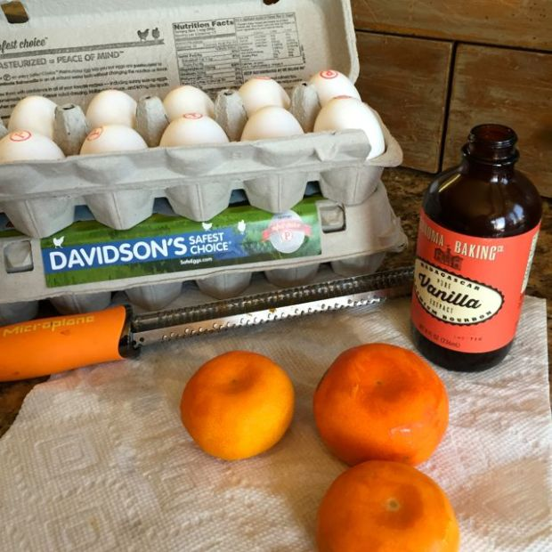 Davidson's Safest Choice Eggs and our Tango mandarin oranges