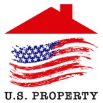 US Property Logo with Text