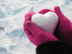 snow heart 150