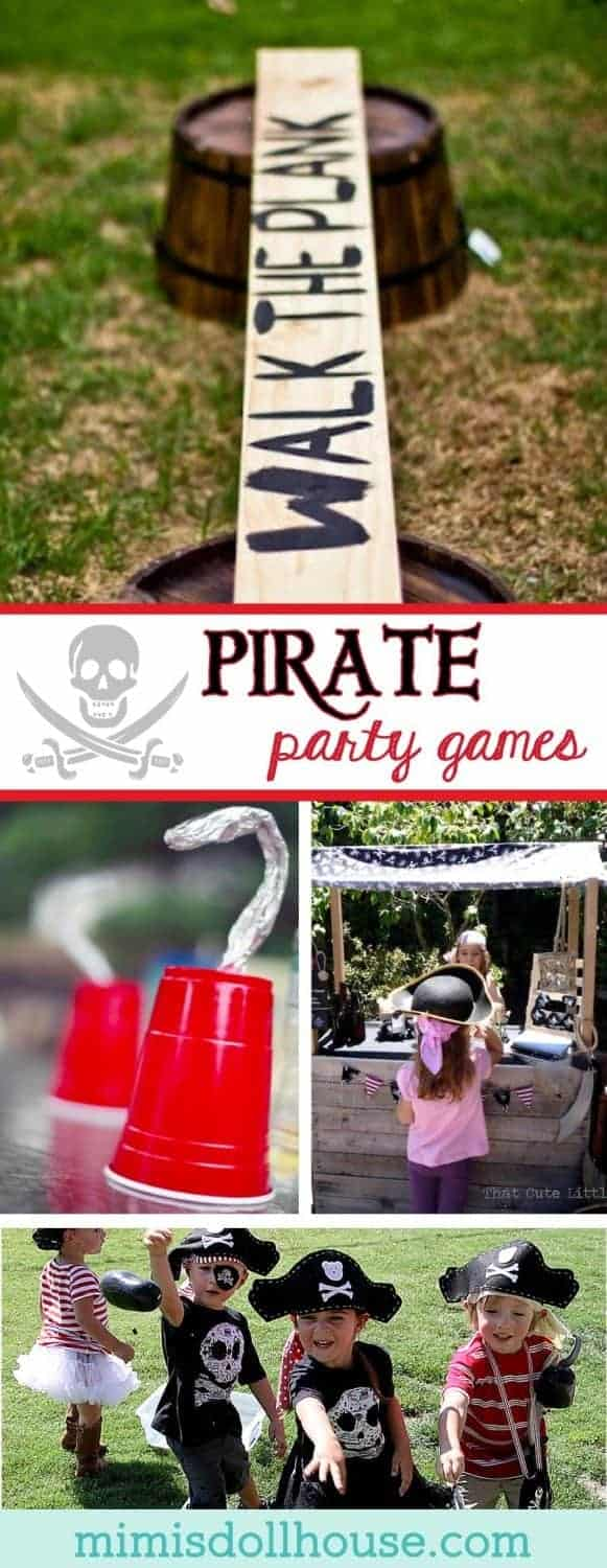 Exterieur Welcome Pirate Party: Set Sail With Pirate Party Game Ideas | Mimi