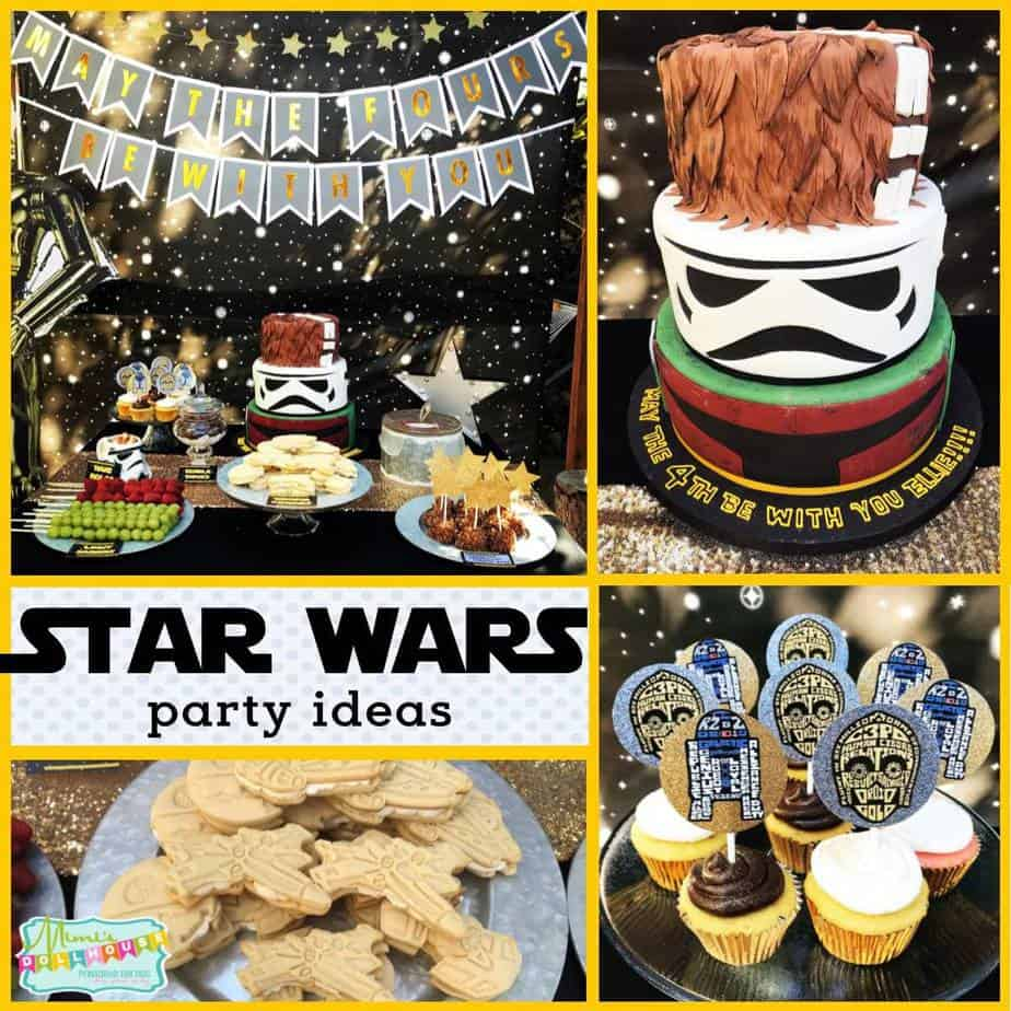 Star Wars Decorating Ideas Star Wars Party Decorations May The Fours Be With You