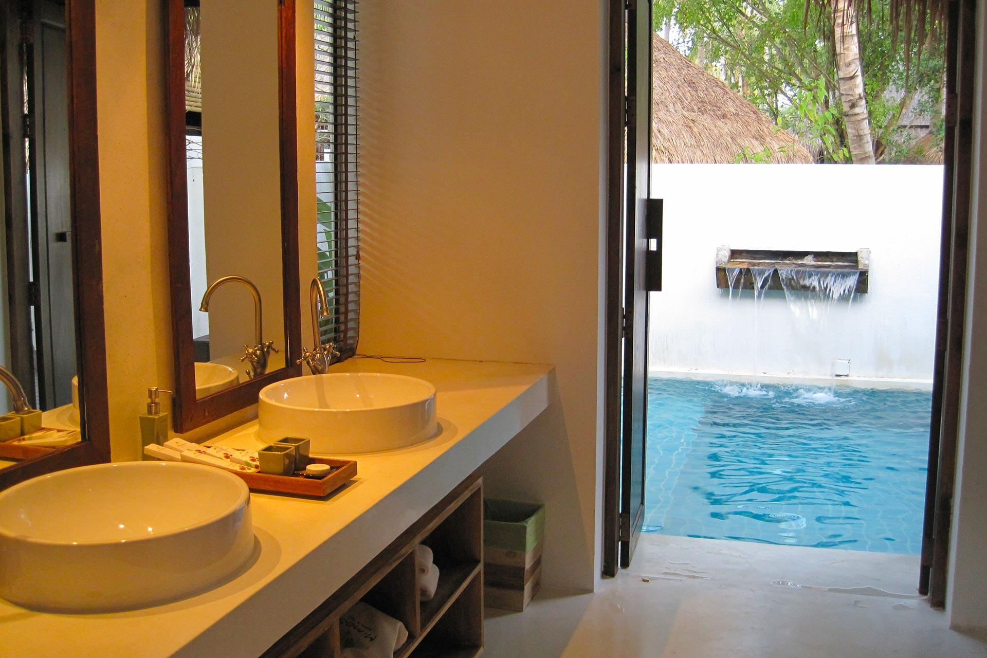 Zen Jacuzzi Pool With Exclusive Lounge Meranti Jacuzzi Pool Villa Mimosa Resort And Spa Koh