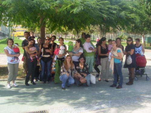 """""""Celebrando llevar a nuestros hijos"""" Encuentro en el Parque de Las Rehoyas-"""