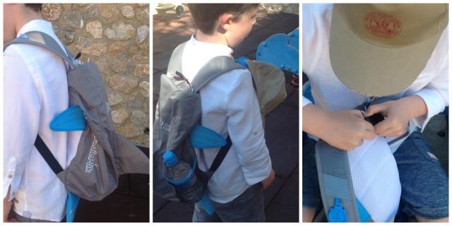 Detalles de la mochila Tiburón PaddlePAk de Trunki