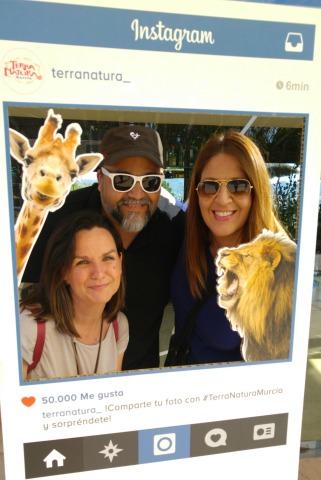 Con Pablo Gin and Tweet y Nuria de Canguros en Murcia