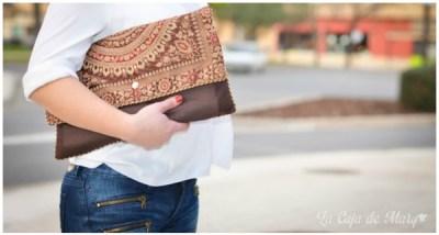 bolso de un cojin convertido en bolso