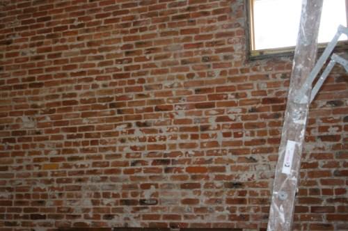 Medium Of Fake Brick Wall