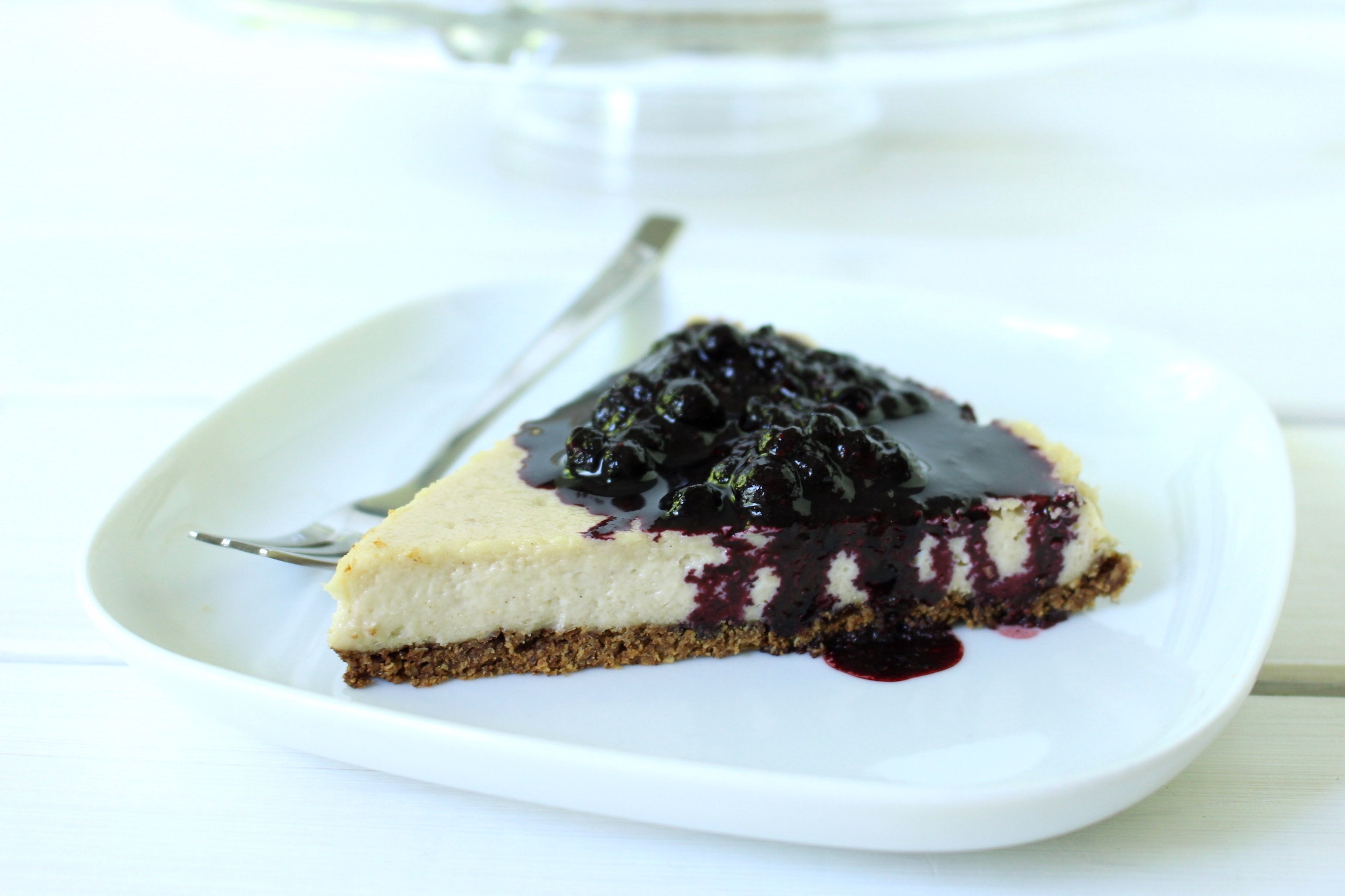 Kuchen Vegan Der Beste Vegane New York Cheesecake