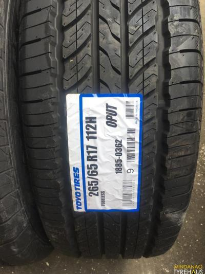 265-65-r17 Toyo OPUT bnew open country tires | Mindanao ...