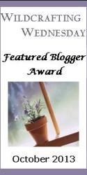 Wildcrafting Wednesday Featured Blogger Award
