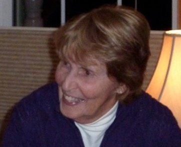 My mother, Ann Davidson Conrad, in 2010.