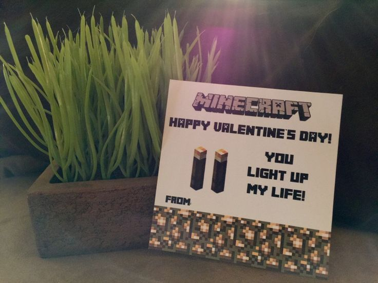 Minecraft Printable Happy Birthday Sign Banner Party