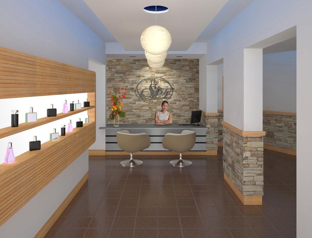 Medical Spa Interior Design - Lobby, AZ, USA Store reno ideas