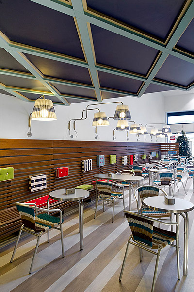 Italian Family Ice Cream Shop Reinvented Commercial - Interior Design News