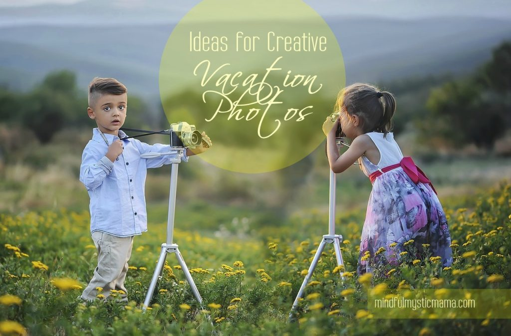Ideas for Creative Vacation Photos (+Our Lakeside Vacation!)