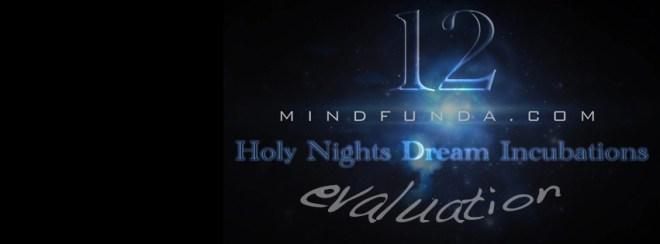 12 holy days - evaluation