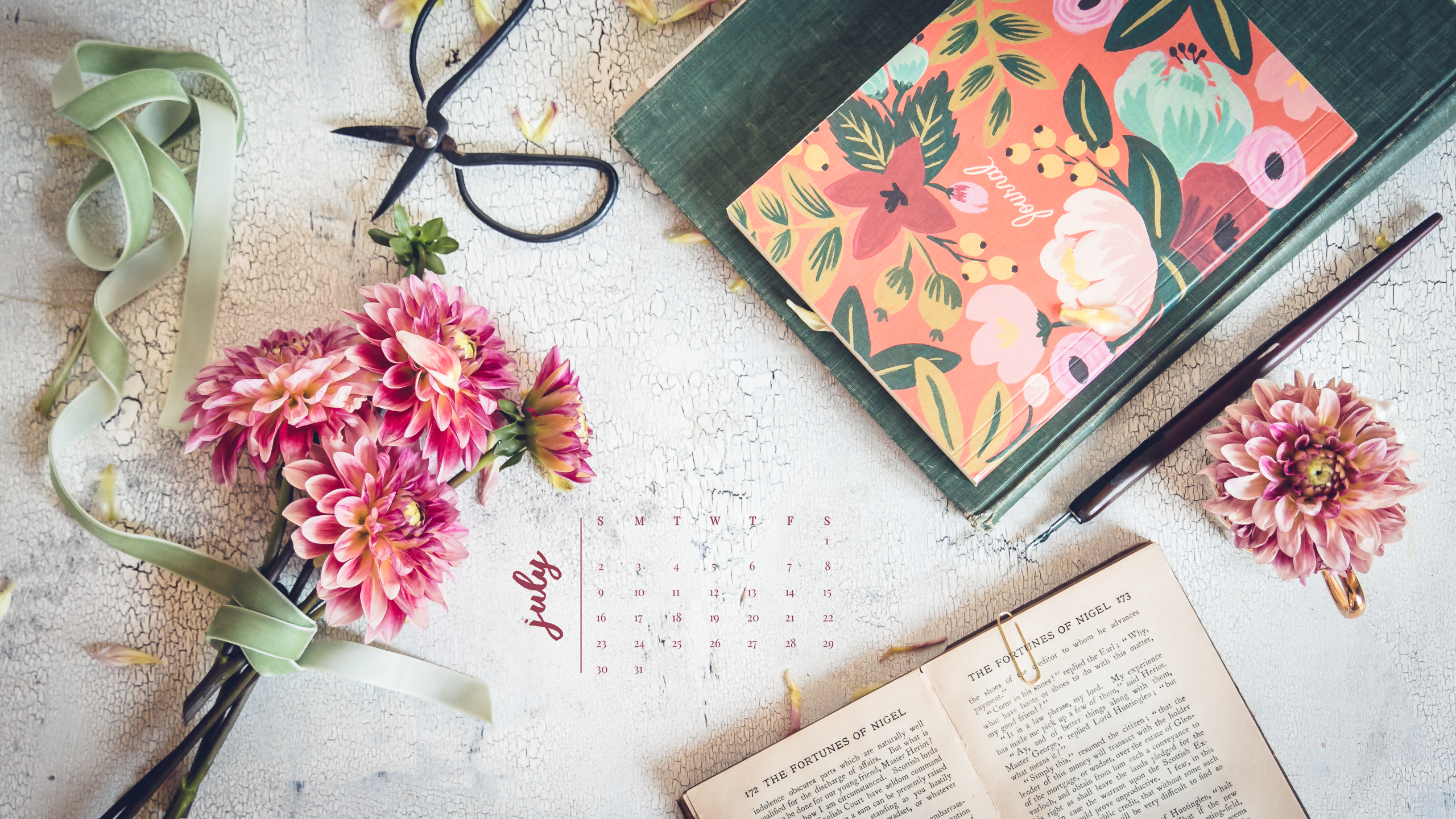 Fall Color Wallpaper For Desktop 2017 Desktop Calendars Minding My Nest