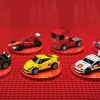 Une collection exclusive Lego Ferrari chez Shell