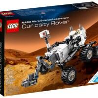 Lego lance le Mars Curiosity Rover