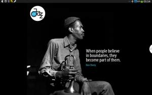 When people believe in boundaries, they become part of them. ~ Don Cherry