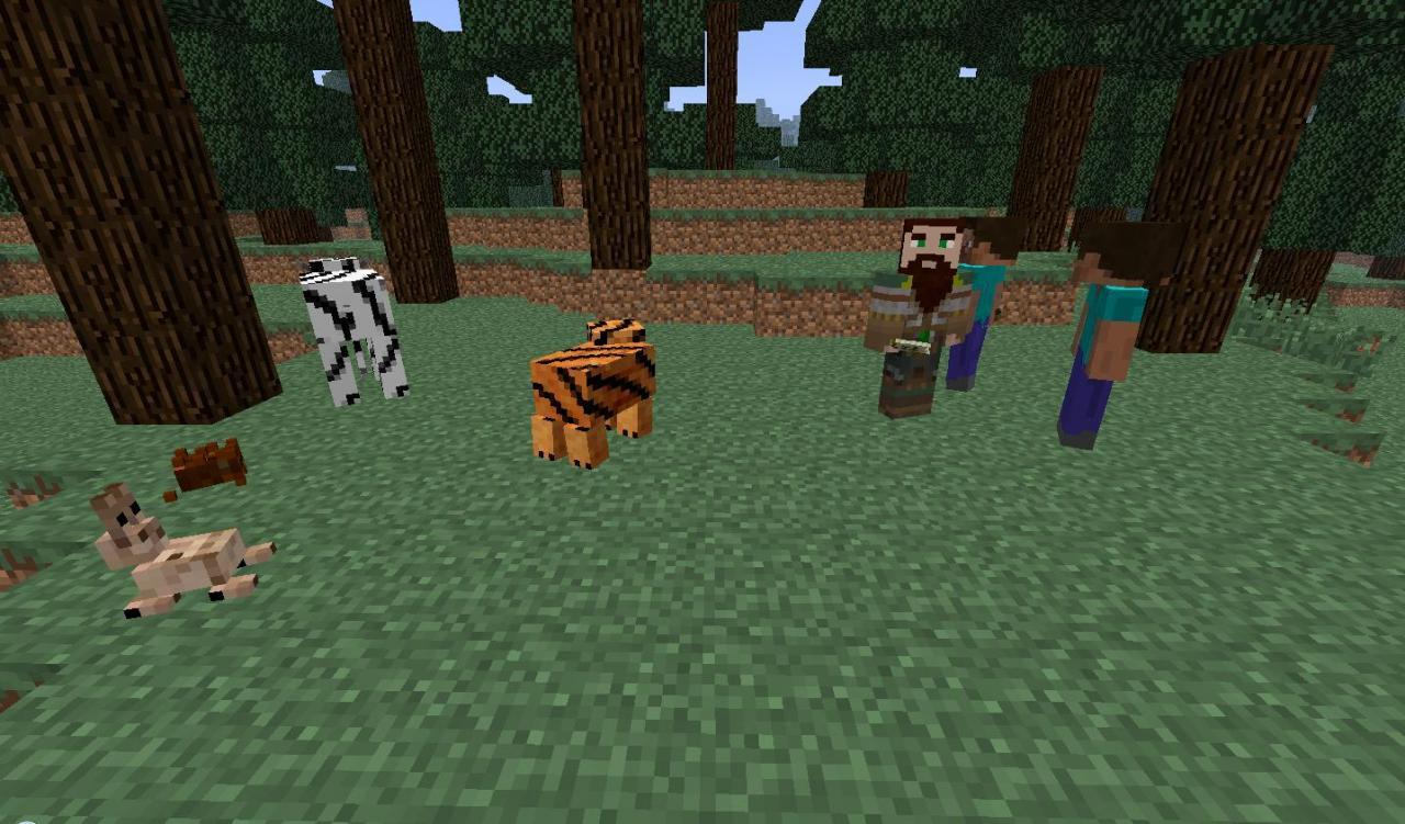 Mod Mobs : More Mobs Mod 1.7.10 : Minecraft