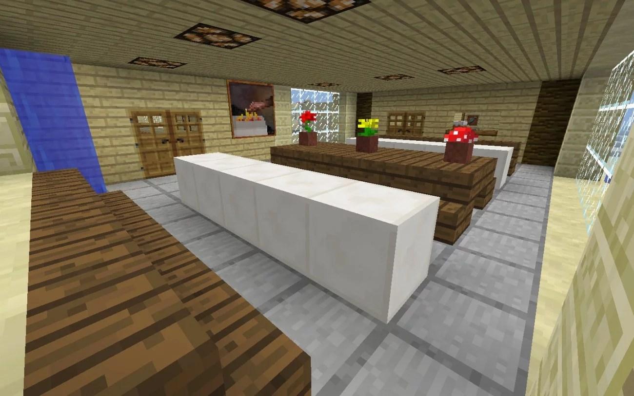 Moderne Küche Minecraft | Moderne Lampen Küche