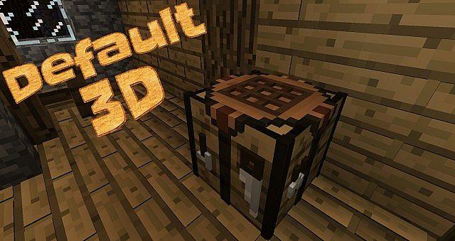 194/19 16x Default 3D Texture Pack Download Minecraft Forum