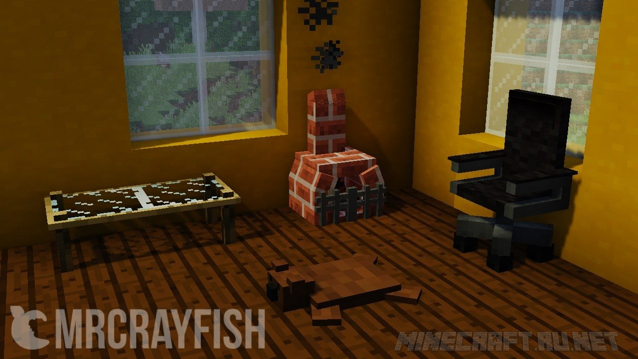 Minecraft Kitchen Mod 1.8 Furniture Mod V 4 1 1 8 9 Mods Mc Pc Net Minecraft Downloads