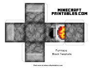 Minecraft Furnace Papercraft | www.imgkid.com - The Image ...