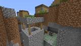 [PC 1.5] Ravine going through village + dungeon
