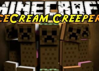 Ice cream sandwich creeper mod for minecraft 1 8 1 7 10