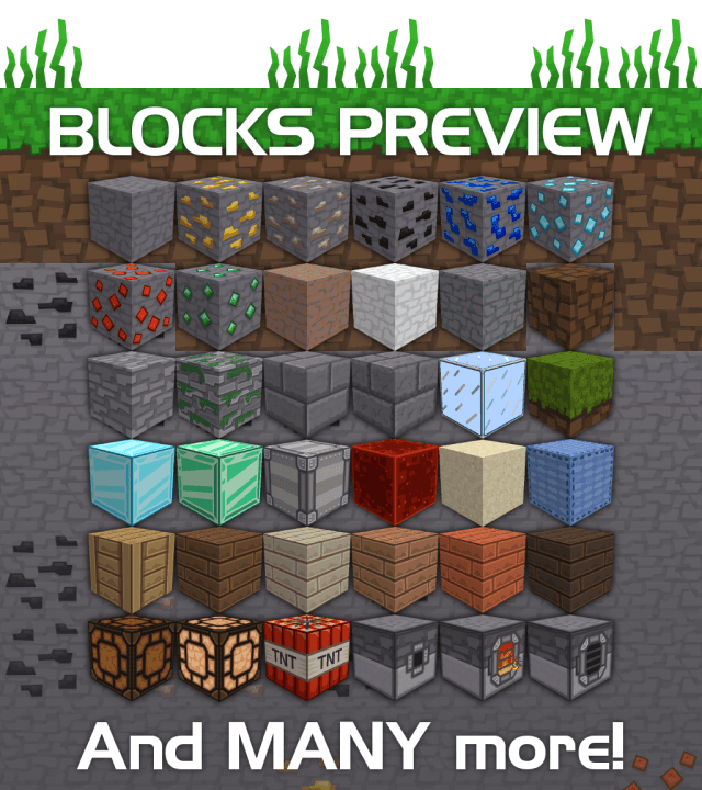 [1.9.4/1.9] [512x] BLCK Texture Pack Download