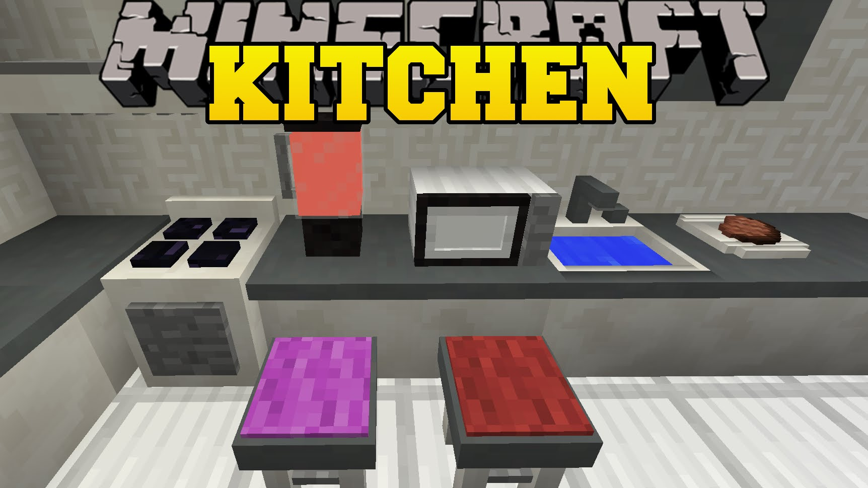 Minecraft Kitchen Mod 1.8 Kitchen Mod For Minecraft 1 7 10 Minecraftsix