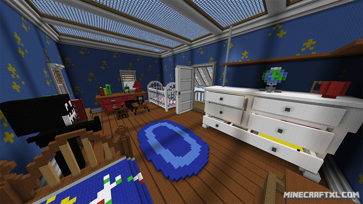 Minecraft Kitchen Mod 1.8 Toy Story 2 Adventure Map For Minecraft 1 8 1 7 Minecraftxl