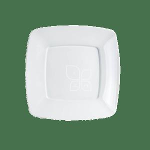 Mineira-Embalagens-Prato-Refeicao-Quadrado-21cm-Branco-Strawplast
