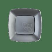 Mineira-Embalagens-Prato-Refeicao-Quadrado-21cm-Prata-Strawplast