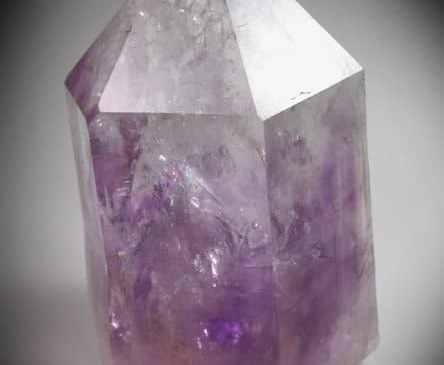 Amatista Cristal con zonado de color