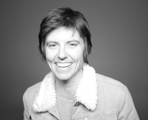 Tig Notaro Photo (b&w)