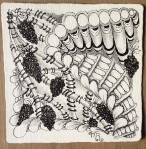 Zentangle tangle patterns
