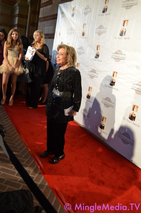 Jane Foray at the 39th Annie Awards