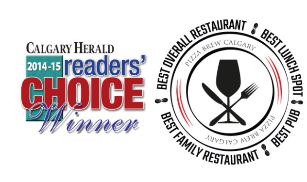 CalgaryHerald_ReadersChoice_PizzaBrewAward