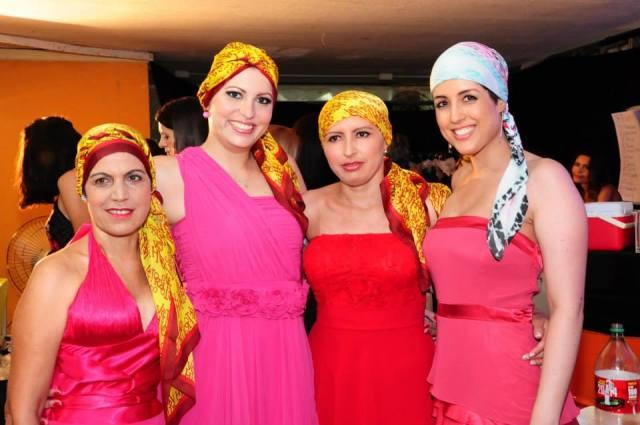 Eu, Dayana, Joyce e Marilsa