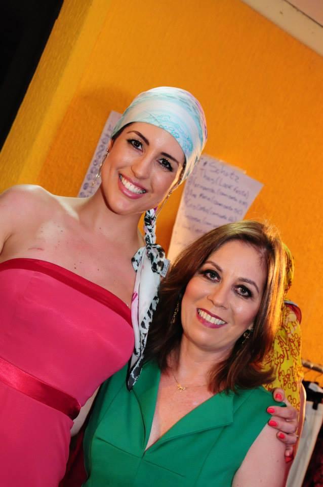Eu e Lúcia Gomez (Diretora do evento)