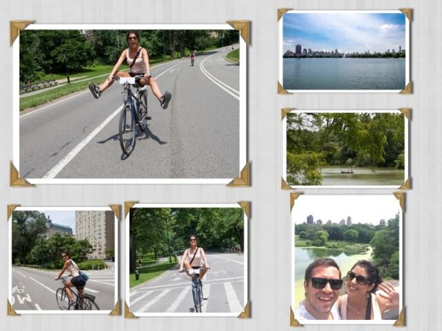 Passeio de 22 km de bike pelo Central Park