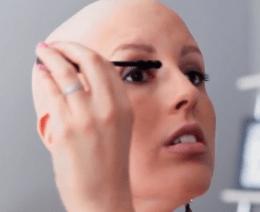 quimioterapia e maquiagem