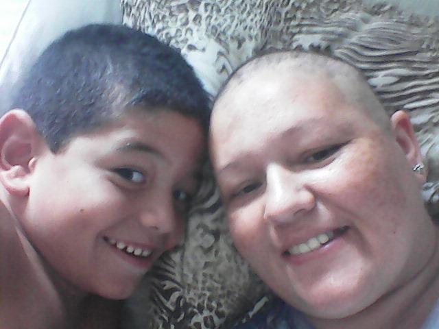 rosangela e filho