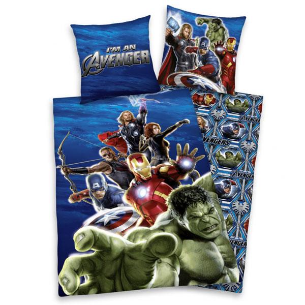 Marvel Comics Gerechtigkeit Doppel Reversible Bettwäsche Thor Hulk Iron Man Neu