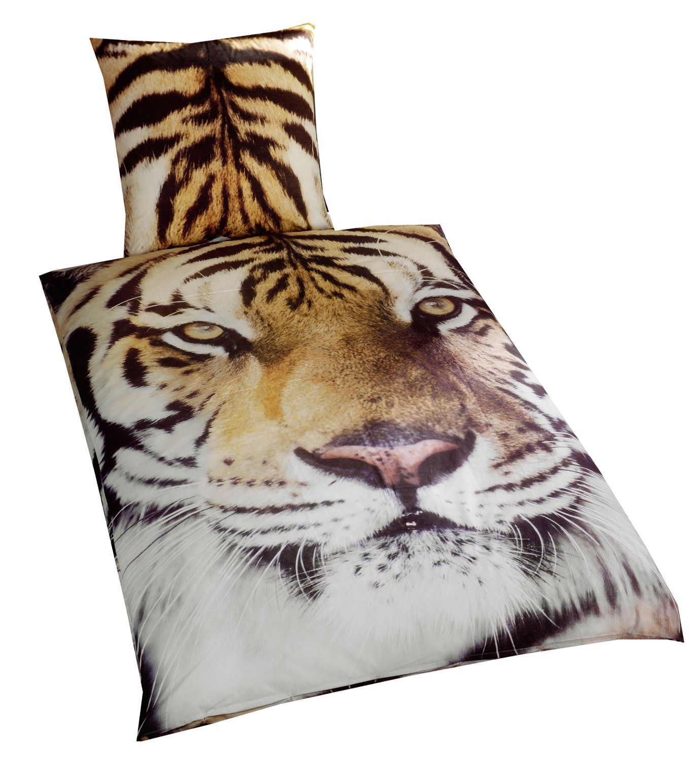 Bettwäsche Tiger Bedding 135x200 Black Sabbath Bosshoss Unholy The Doctors