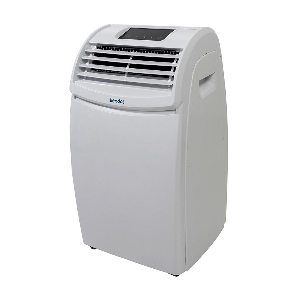 Aparato de aire acondicionado port til ilustraci n de - Aire frio calor portatil ...